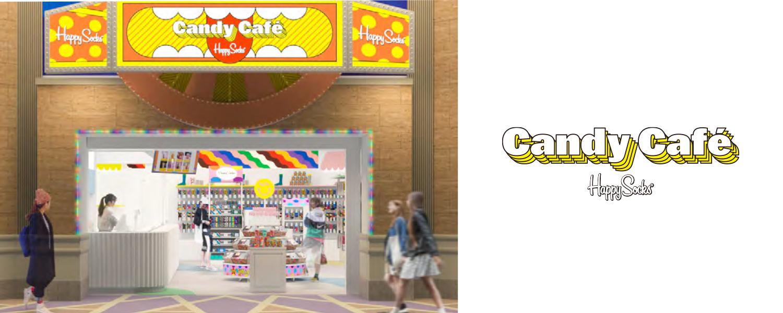 Happy SocksのCandy Cafeのページ
