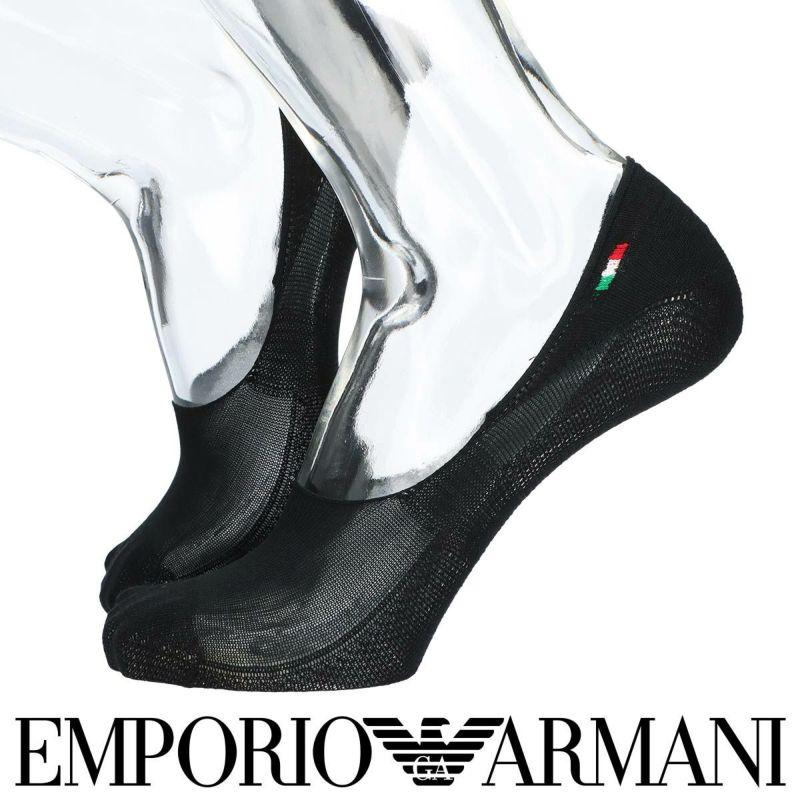 EMPORIOARMANIエンポリオアルマーニ日本製Hold&Fit鹿の子編みフットカバーカバーソックスメンズ靴下男性紳士プレゼントギフト02322282