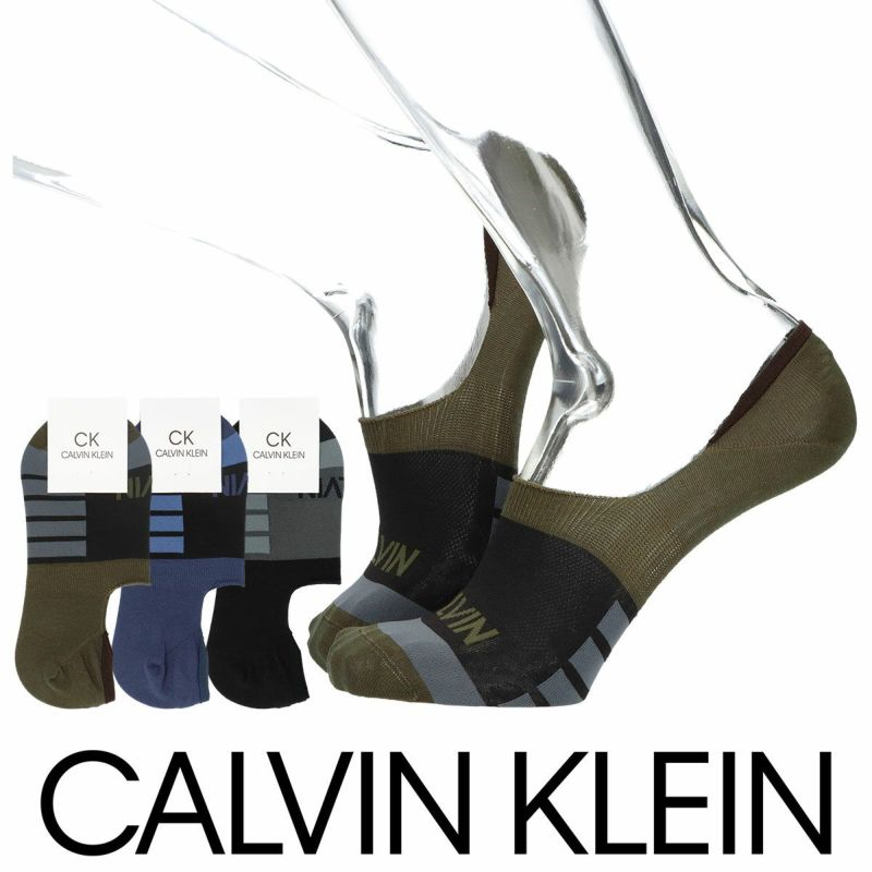 CalvinKleinカルバンクライン日本製ヒールフィットグリップ涼感CALVINショートソックスフットカバーカバーソックスメンズカジュアル靴下男性紳士プレゼントギフトバレンタイン02522513