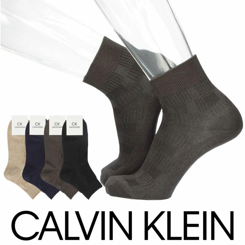 CalvinKleinカルバンクラインリンクスブロック柄ショート丈メンズカジュアルソックス靴下男性紳士プレゼントギフトバレンタイン02542194