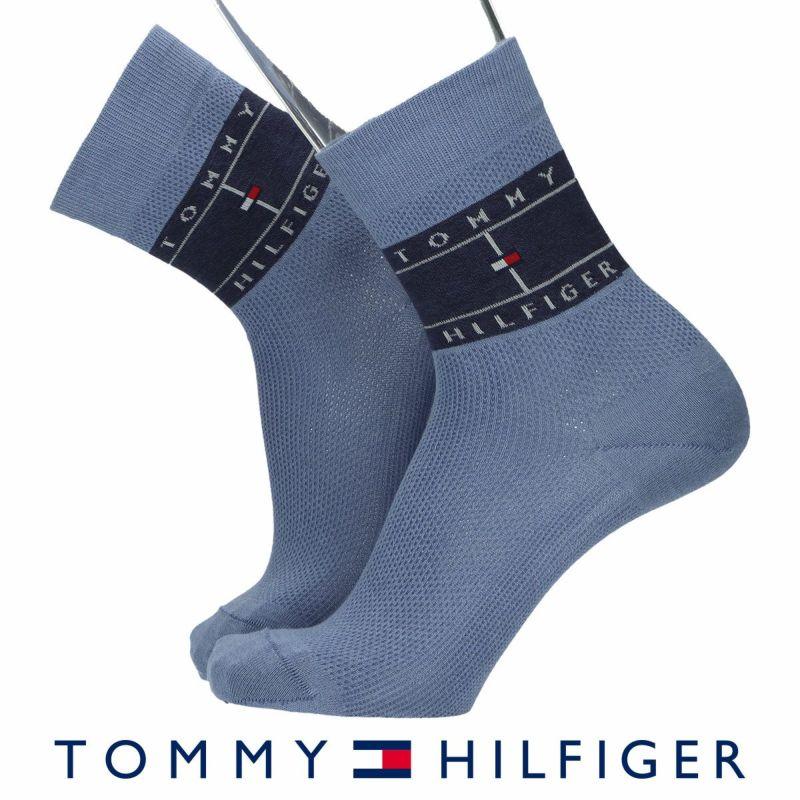 TOMMYHILFIGERトミーヒルフィガーサイドフラッグ柄20cm丈ショート丈メンズカジュアルソックス靴下男性紳士プレゼントギフトバレンタイン02552598