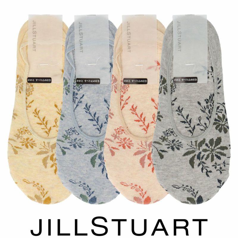 JILLSTUARTジルスチュアート日本製ボタニカルダイJILLロゴフラワー柄レディースフットカバーカバーソックス靴下女性婦人プレゼントギフト03145433