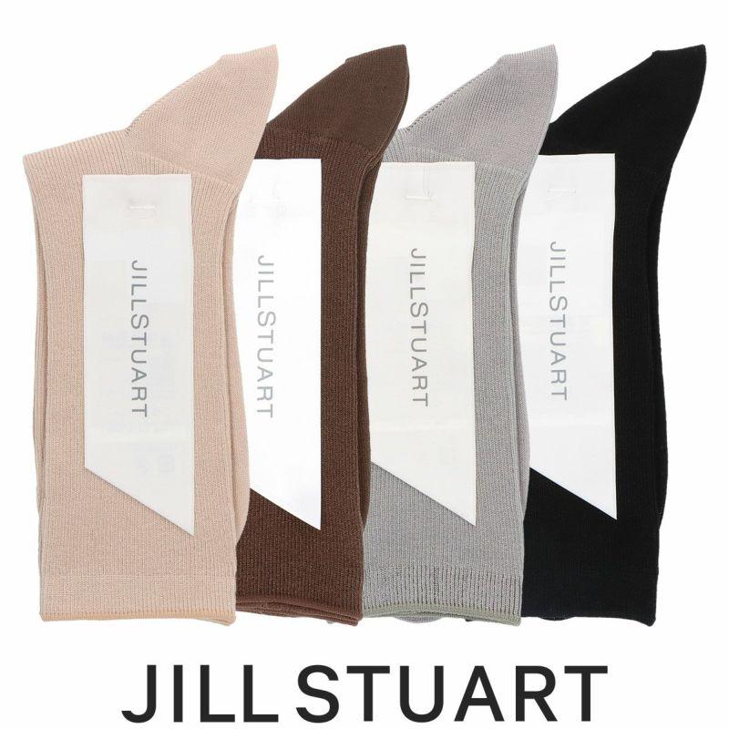 JILLSTUARTジルスチュアートスーピマ綿JILL1×1リブクルー丈レディースソックス靴下女性婦人プレゼントギフト03145500