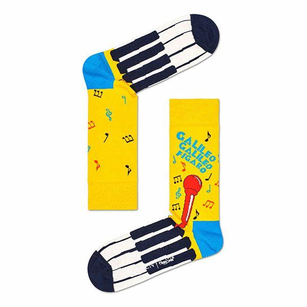 HappySocksハッピーソックス【Limited】HappySocks×QUEEN(クイーン)BOHEMIANRHAPSODY(ボヘミアン・ラプソディ)クルー丈ソックス靴下ユニセックスプレゼント贈答ギフト1A413016