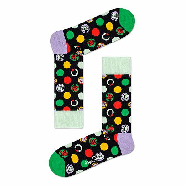 ハッピーソックス【Limited】HappySocks×Disney(ディズニー)FOCUS,MICKEY(フォーカスミッキー)クルー丈ソックス靴下メンズ男性紳士【プレゼント贈答ギフト】10417037
