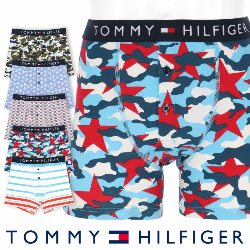 TOMMYHILFIGER トミーヒルフィガーBUTTONFLYBOXERBRIEFPRINTボタンフライボクサーブリーフプリント5330-1877男性メンズプレゼント贈答ギフト