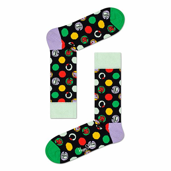 ハッピーソックス【Limited】HappySocks×Disney(ディズニー)FOCUS,MICKEY(フォーカスミッキー)クルー丈ソックス靴下レディース女性婦人【プレゼント贈答ギフト】11417037