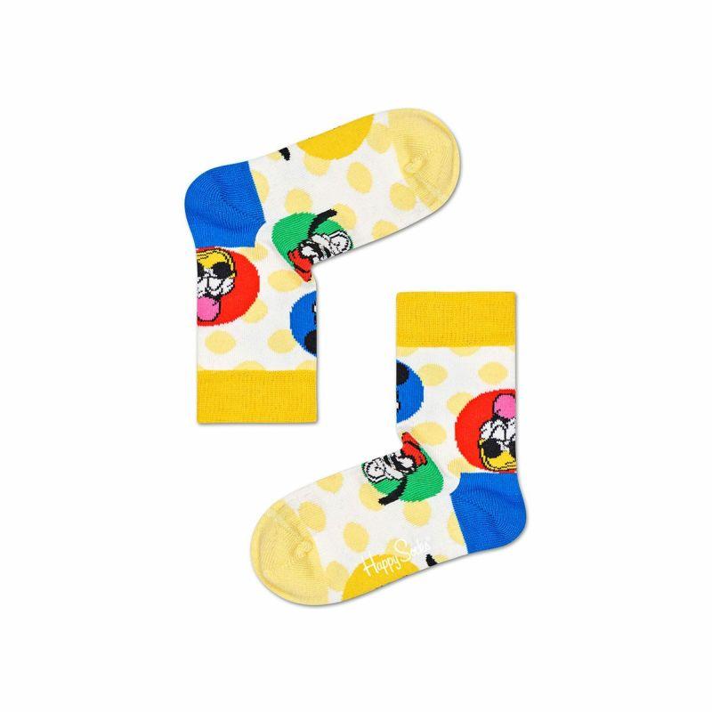 ハッピーソックス【Limited】HappySocks×Disney(ディズニー)SUNNYCREW(サニークルー)子供クルー丈ソックス靴下KIDSジュニアキッズ12217015