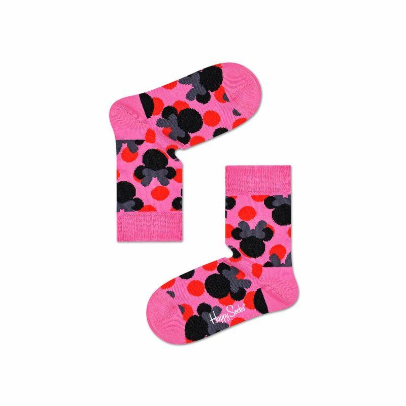 ハッピーソックス【Limited】HappySocks×Disney(ディズニー)POLKAMINNE(ポルカミニー)子供クルー丈ソックス靴下KIDSジュニアキッズ12217016