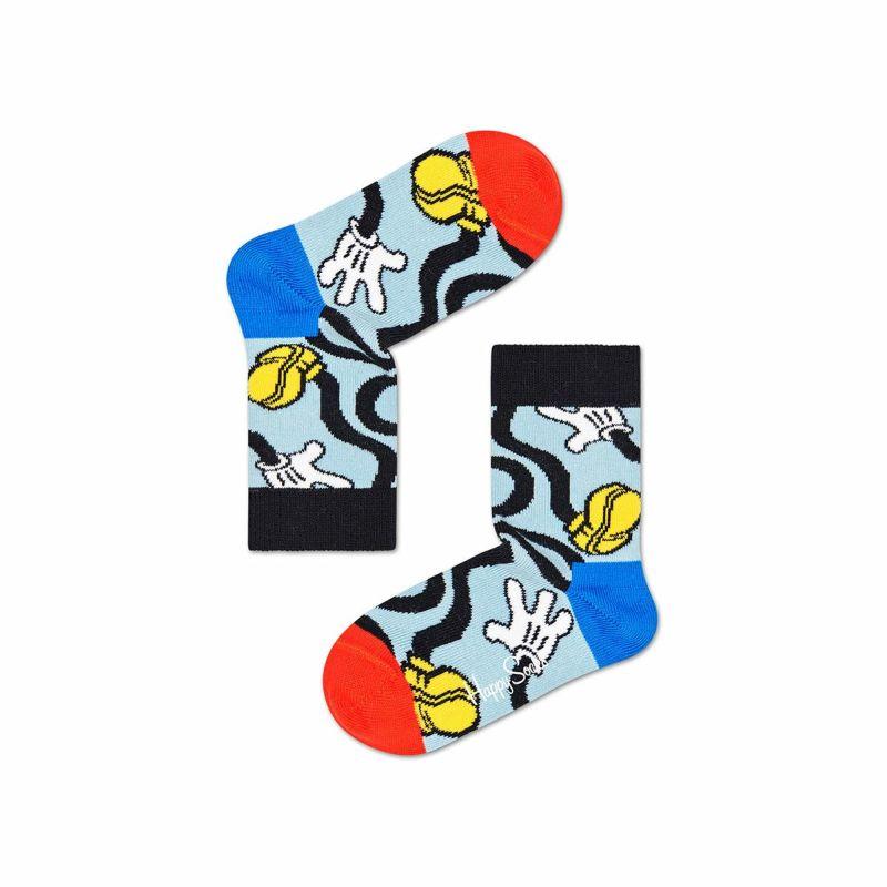 ハッピーソックス【Limited】HappySocks×Disney(ディズニー)MICKEYSTRECH(ミッキーストレッチ)子供クルー丈ソックス靴下KIDSジュニアキッズ12217018