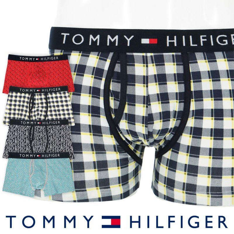 TOMMYHILFIGER トミーヒルフィガー男性メンズパンツTOMMYCOTTONKEYHOLETRUNKPRINTトミーコットンキーホールボクサーパンツ男性メンズプレゼント贈答ギフト53302018