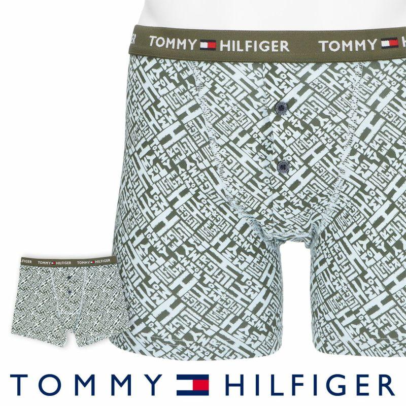 TOMMYHILFIGER|トミーヒルフィガー男性メンズパンツTOMMYCOTTONBUTTONFLYBOXERBRIEFPRINTトミーコットンボタンフライボクサーパンツ男性メンズプレゼント贈答ギフト53302015