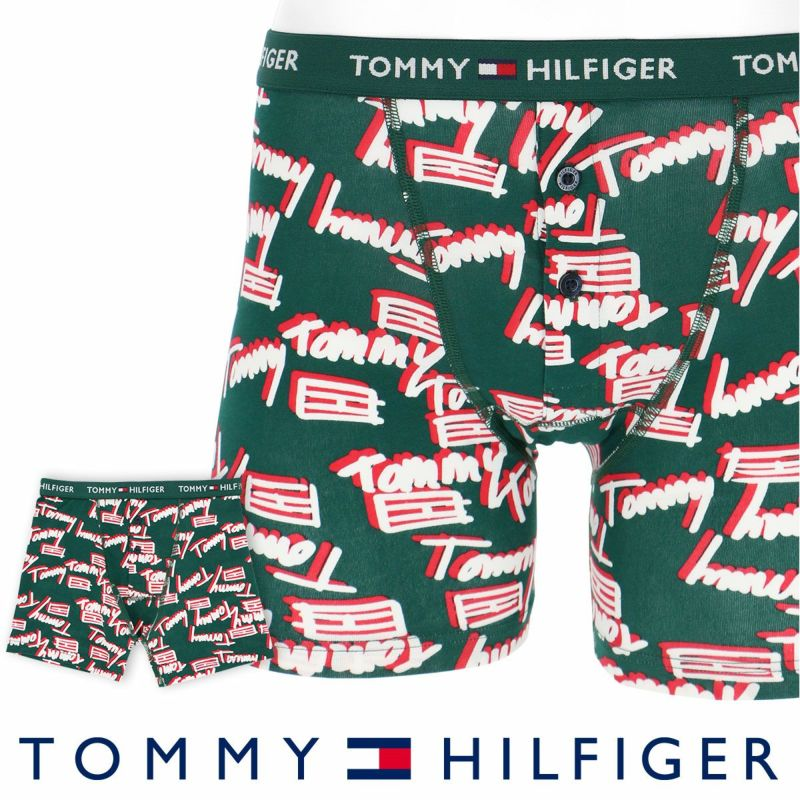 TOMMYHILFIGER トミーヒルフィガーBUTTONFLYBOXERBRIEFTOMMYロゴボクサーパンツ5339-1670男性下着メンズプレゼントギフト誕生日ポイント10倍