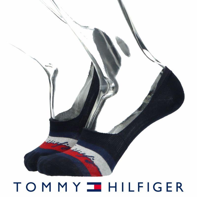 TOMMYHILFIGERトミーヒルフィガーフロントTHロゴフットカバーカバーソックスメンズカジュアル靴下男性紳士プレゼントギフトバレンタイン02552376