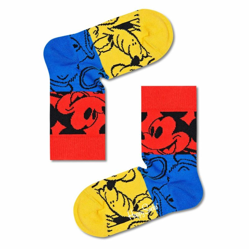 HappySocksハッピーソックス【Limited】HappySocks×Disney(ディズニー)ColorfulFriends(カラフルフレンズ)子供クルー丈ソックス靴下KIDSジュニアキッズプレゼント贈答ギフト14213008